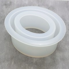 Oval Bangle Silicone Mold for resin work