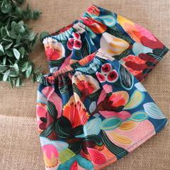 Teal Bouquet Adult Sock Protectors