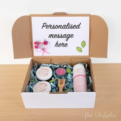 'Smell like a Rose' personalised pamper pack