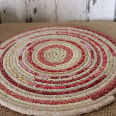 Large heat pads- Red Cream Mix