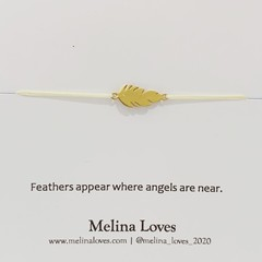 Bracelet - Angel Feather - Stainless Steel