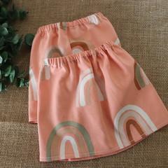 Pale Pink Rainbow Adult Sock Protectors