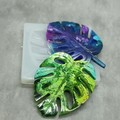 Monstera Leaf Silicone Mold for resin work