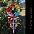 Rainbow Sunburst Suncatchers with sp stone