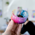 Oval Cuff Bangle Silicone Mold for resin work