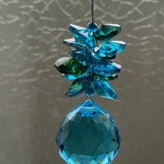 Blue and Green Suncatcher