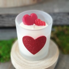 Love Heart / Gift / Soy Candle / Love Spell