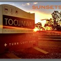 TOCUMWAL SUNSETS ( Tocumwal Entry Sign)