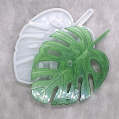 Large Monstera Leaf Silicone Mold for resin work