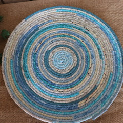 Extra Large Rope Heat pads- New Blue Mix