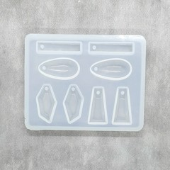 Multi Earring / Pendant Silicone Mold for resin work