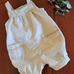"Baby overalls ""waterhole print"""