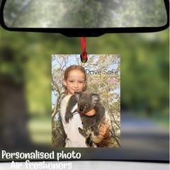 Custom Photo Car Air Freshener