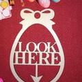Set of 3 Easter Egg Hunt Direction Indicators