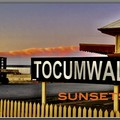 TOCUMWAL SUNSETS ( Railway Station cover)
