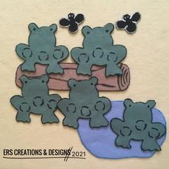 Five Little Speckled Frogs Felt Set
