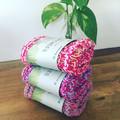 Kitchen dishcloth washcloth-reusable - sustainable - cotton - various colours