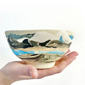 Ceramic Art Bowl, Unique Ceramic Design, Breakfast bowl