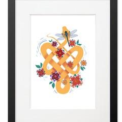 Unique Bright A4 Art Prints Minibeast Set 7