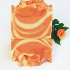 Orange and Rosewood kombucha Soap Bar