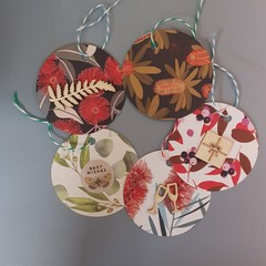 Native Australian Gift Tags (5)
