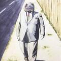 Walrus Man art print