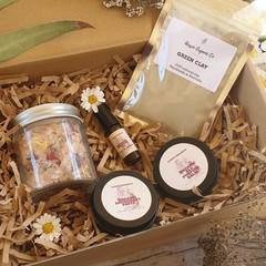 Personalised Organic Bath Gift Box* Gift for her* Birthday Gift* Valentine gift