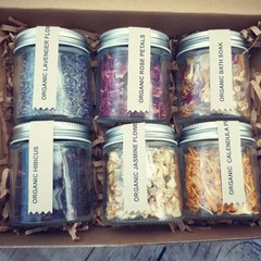 Personalised Gift Box* Organic dried herbs* Dried flowers* Gift for her