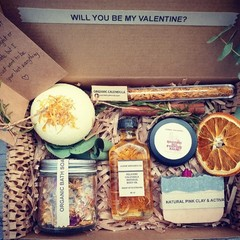 Personalised organic self care gift set* Valentine gift* Gift for her* Birthday
