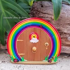 Rainbow Happiness Fairy Door *Pre-Order*