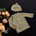 Baby button up knitted cardigan