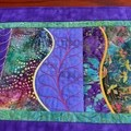 Table Runner - Embroidered/patchwork
