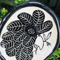 Black Cockatoo plate