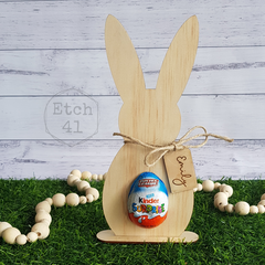 Easter Bunny Egg Holder - Personalised