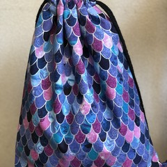 Drawstring backpack beautiful and unique,made just for you