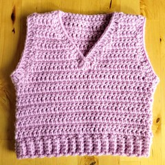Crochet Baby Vest - Pattern Download