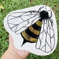 Gold Bee 🐝  Wall Hanging