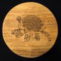 Hevea (Rubberwood) Serving Platter - Waratah Engraving