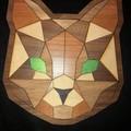 Wooden Puzzle - Cat