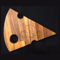 Quirky Spotted Gum Cheese Platter - Cheese Block Engraving