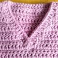 Crochet Baby Vest - PDF Pattern