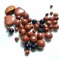 Assorted Goldstone gemstone beads Project lot - Destash