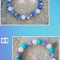 NEXT LEVEL.. AWESOME! Gemstone Stretch Beaded Bracelet Collection.