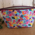 Small Toiletry bag- Coral