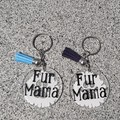 Keychain, keyring, pet tag. Car dangler