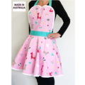 Pink Cute Animal Ladies Apron FREE Tracked POST!