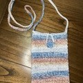 Mini Crochet Crossbody Bag 100% Cotton