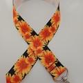 Sunflower lanyard / ID holder / badge holder