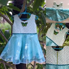 Butterfly dress Size 3