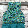 Peacock feathers Designer Hand Towel